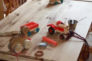 Materiales y juguetes de calidad.