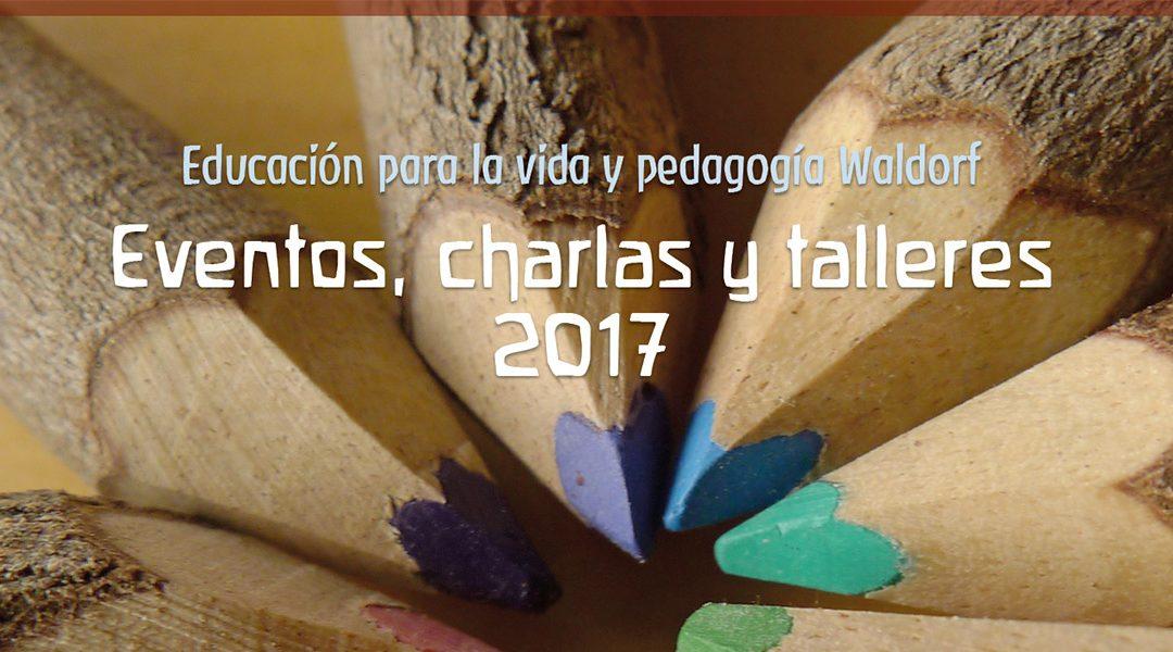 Eventos, charlas y talleres 2017