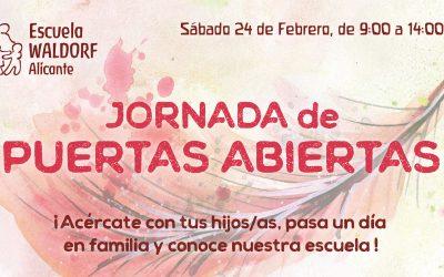 Jornada de Puertas Abiertas · Sábado 24 de Febrero