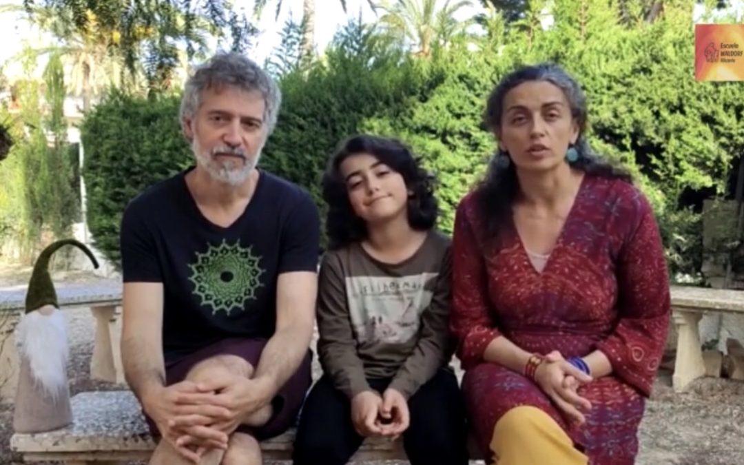 Testimonio familiar: Elena y Carlos, padres de Arún.