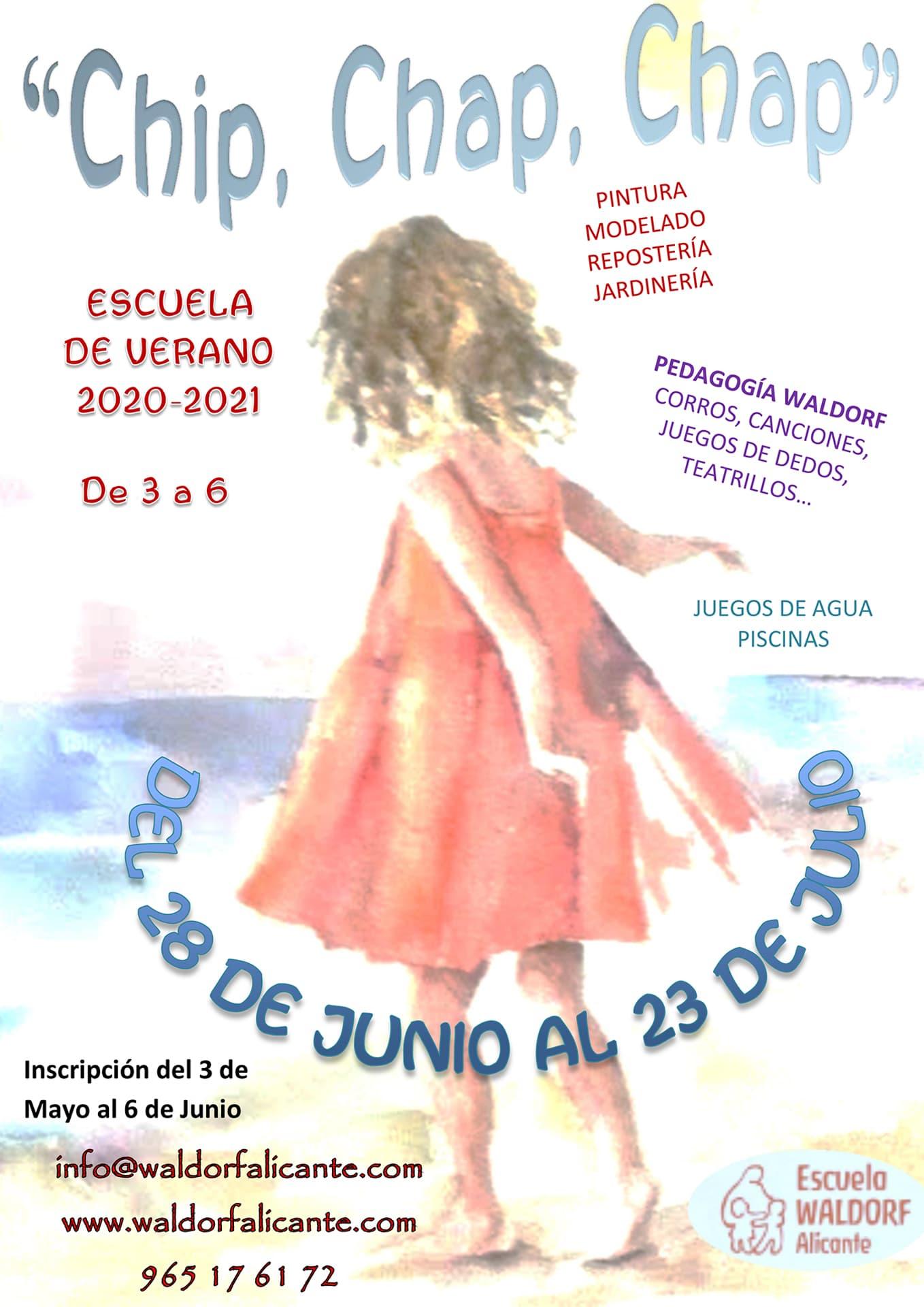 Escuela de verano infantil Alicante